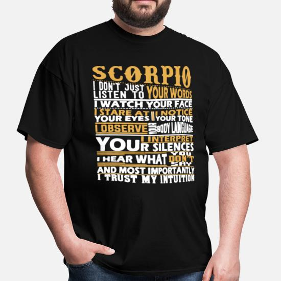81aeb6db8 Scorpio T-Shirt Men's T-Shirt | Spreadshirt