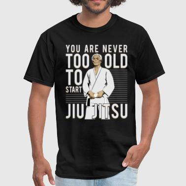 Grandpa BJJ and Jiu Jitsu T Shirt - Men's T-Shirt