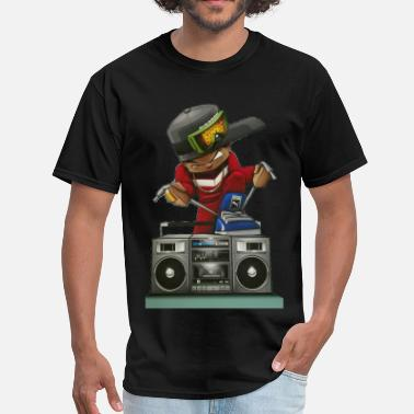 Sneaker Boombox sneaker head - Men's T-Shirt