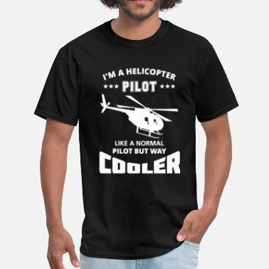 Helicopter Clothing Helicopter Pilot Shirt - Men's T-Shirt