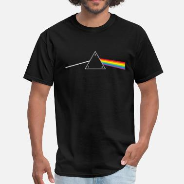 Pink d4 Side of the Moon - Men's T-Shirt