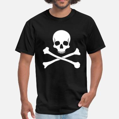 Skull And Crossbones Skull and Crossbones - Men's T-Shirt