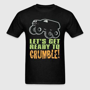 Monster Truck Crumble - Men's T-Shirt