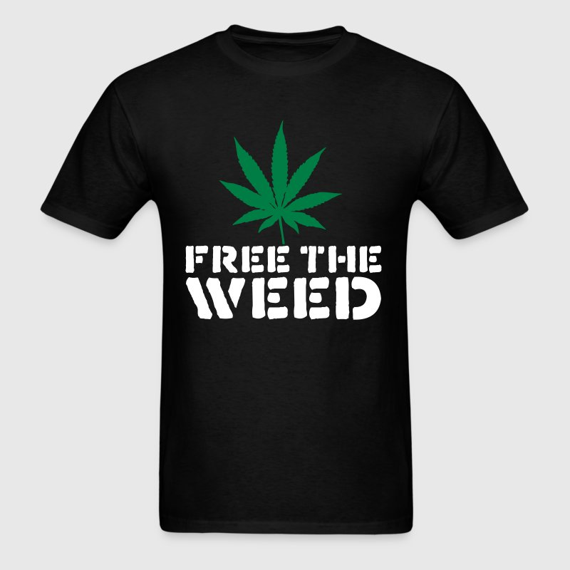 Free The Weed - Men's T-Shirt