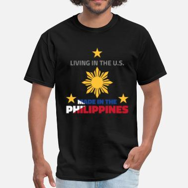 57b2b5a3c02 Pinoy In Usa Made in the Philippines - Men  39 s T-Shirt
