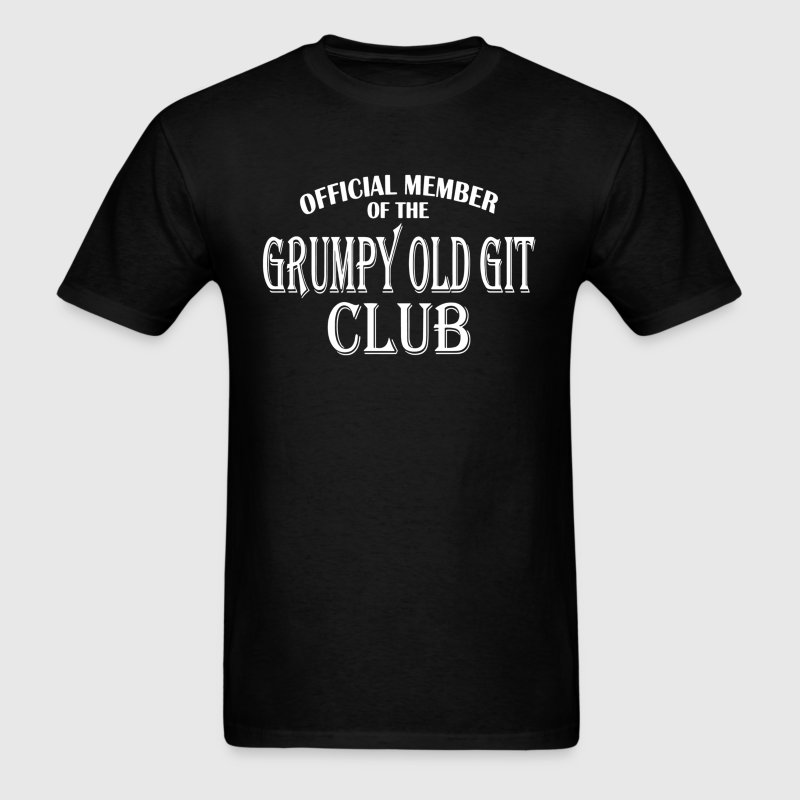 Grumpy Old Git Club - Men's T-Shirt
