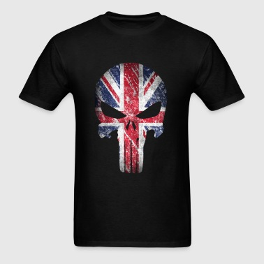 skull british - Men's T-Shirt