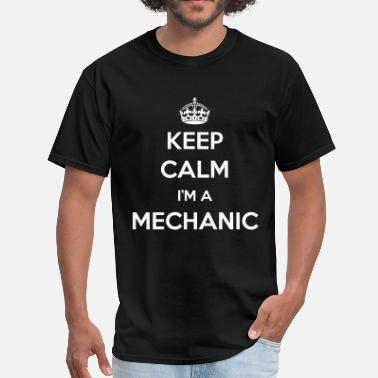 Careers-professions-hoodies-sweatshirts KEEP CALM I'M A MECHANIC - Men's T-Shirt