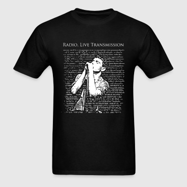 Ian Curtis (Joy Division) Radio, live transmission - Men's T-Shirt