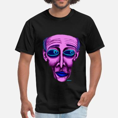 Purple Funny PURPLE - Men's T-Shirt