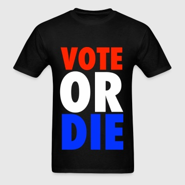 Vote or Die 2012 Rock The Vote - Men's T-Shirt