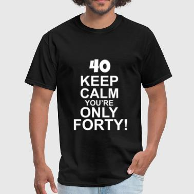 40th Birthday - Men's T-Shirt