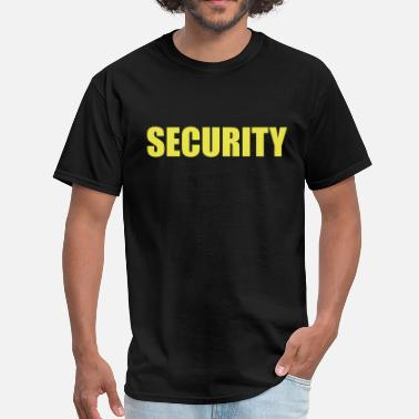 Security Quotes Security  - Men's T-Shirt
