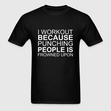 Work Out - Men's T-Shirt