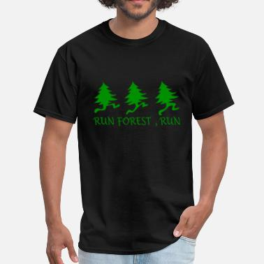 Run Forest Run Run Forest Run - Men's T-Shirt