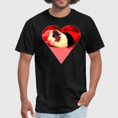 Guinea Pig heart - Men's T-Shirt