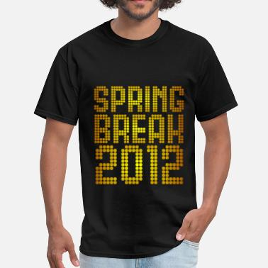 Summer Design Spring Break Spring Break 2012 Neon Design - Men's T-Shirt