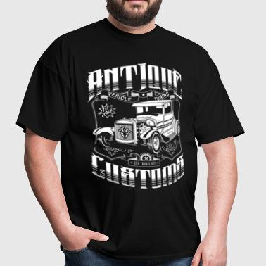 Hot Rod - Antique Customs - Men's T-Shirt