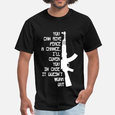 17ef1d189c Sayings Military Funny MILITARY - Men's T-Shirt