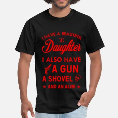 Father And Daughter Beautiful Daughter - Men's T-Shirt