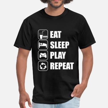 Eat Sleep Play Repeat - Men's T-Shirt