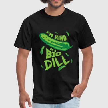 Dill funny pickle - Men's T-Shirt