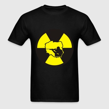 Radiation Soldier - Men's T-Shirt