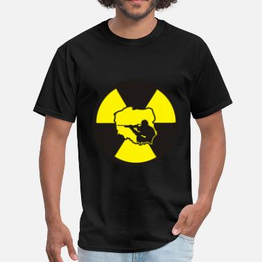 Nuclear Energy Radiation Soldier - Men's T-Shirt