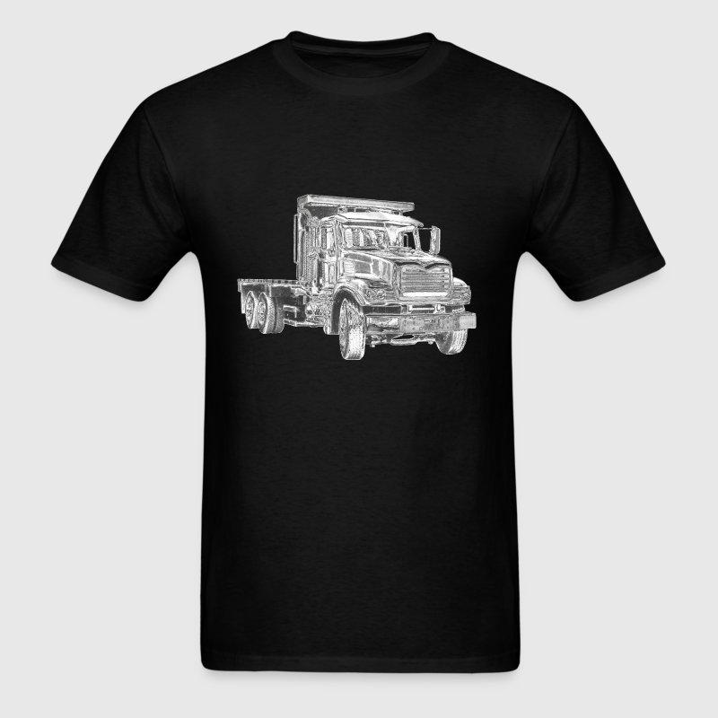 Flatbed Truck - Men's T-Shirt