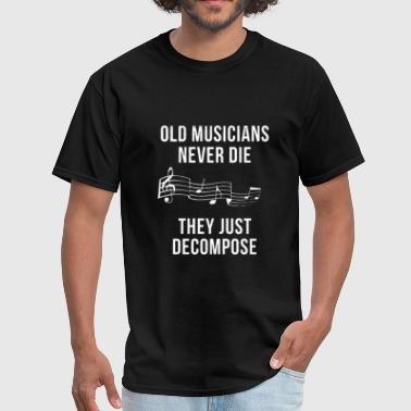 Old Musicians - Men's T-Shirt