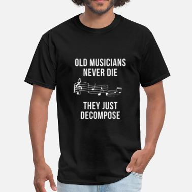 Musician Old Musicians - Men's T-Shirt