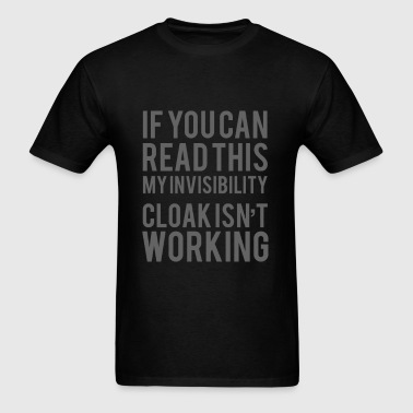 invisible cloak - Men's T-Shirt