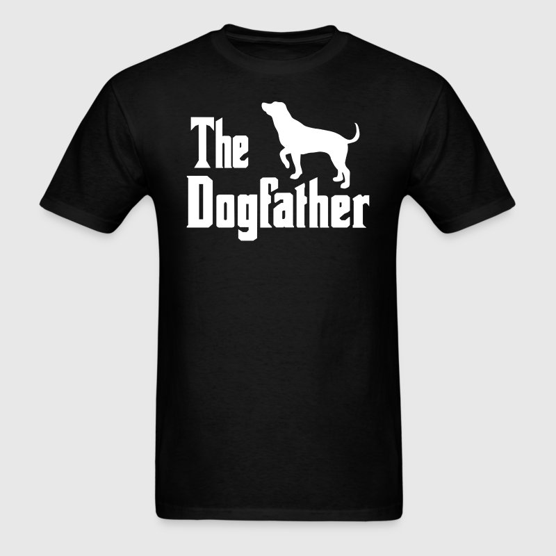 The Dogfather - Men's T-Shirt