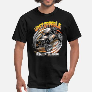 Ultra4 Racing Ultra4 Buggy Unstoppable - Men's T-Shirt