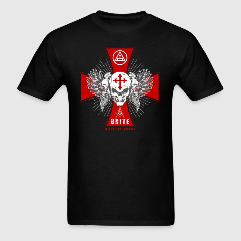 Knights Templar - Join The Last Crusade Infidel 1 - Men's T-Shirt