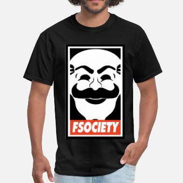 Robot Fsociety - Men's T-Shirt