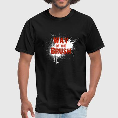 Official Way of the Brush shirt front - Men's T-Shirt