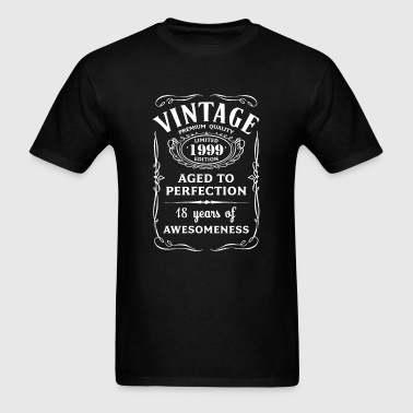 Vintage Limited 1999 Edition - 18th Birthday Gift - Men's T-Shirt