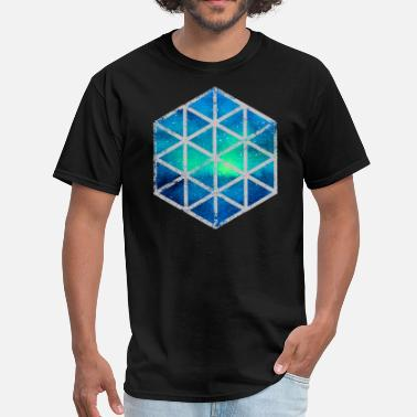 Intergalactic intergalactic hexagon - Men's T-Shirt
