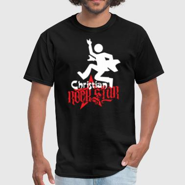 CHRISTIAN ROCK STAR - Men's T-Shirt