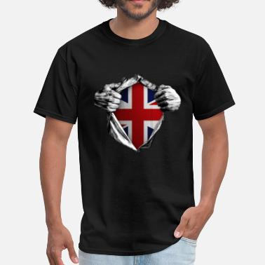 Inside United Kingdom (Inside me) - Men's T-Shirt