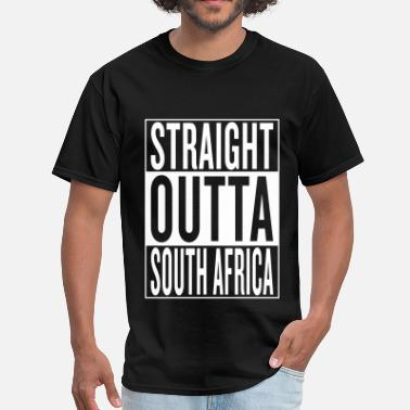 Straight Outta South Africa South Africa - Men's T-Shirt