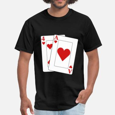 Baby Poker Ace four - Men's T-Shirt