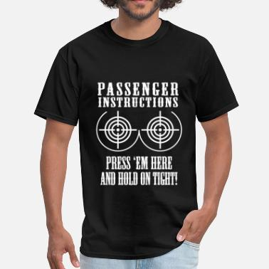 Instructions Passenger Instructions - Men's T-Shirt