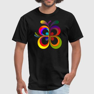 I love colors butterfly! - Men's T-Shirt