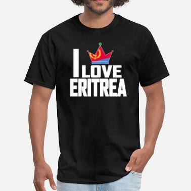 Eritrea Pride ERITREA FLAG - Men's T-Shirt