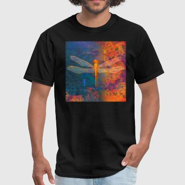 Flaming Dragonfly - Men's T-Shirt