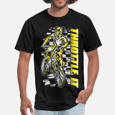 Monster Energy Motocross Throttle It Suzuki - Men's T-Shirt