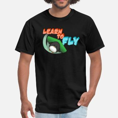 Learn Learn to Fly - Men's T-Shirt
