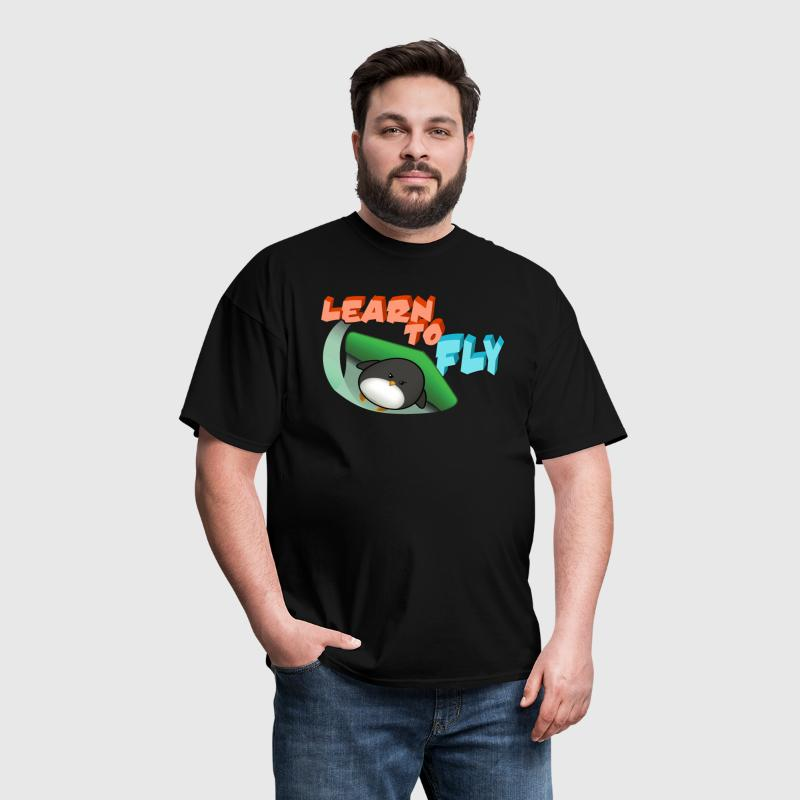 Learn to Fly - Men's T-Shirt